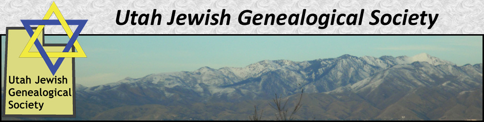 Utah Jewish Genealogical Society